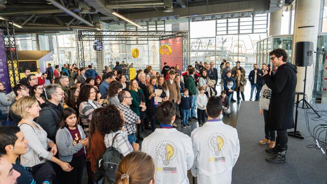 Imagen de la jornada Homo Curiosus en el Palacio Euskalduna de Bilbao