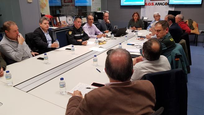 Reunión del Centro de Coordinación Operativa.