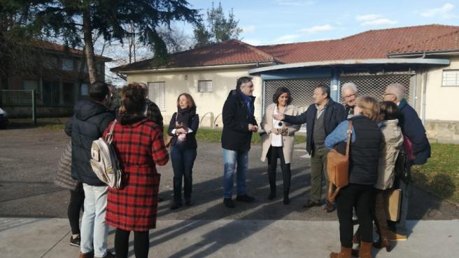 Visita del PP a Gijón