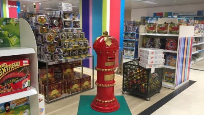 Imagen de una tienda de juguetes.