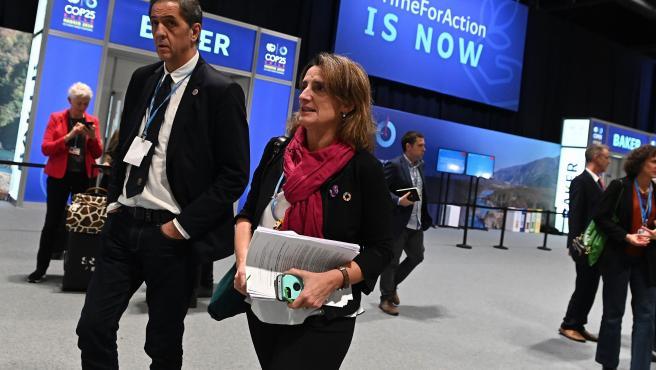 La ministra de Transición Ecológica en funciones, Teresa Ribera.