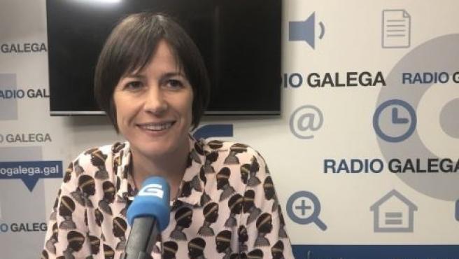 La portavoz del BNG, Ana Pontón.