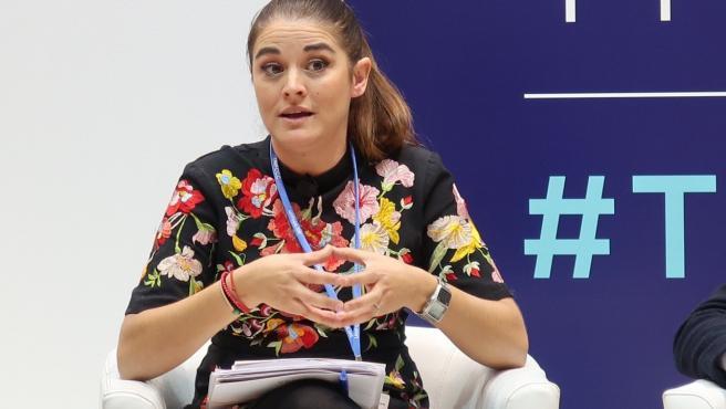 La consellera d'Emergència Climàtica, Mireia Mollà, intervé en la Cimera Mundial del Clima