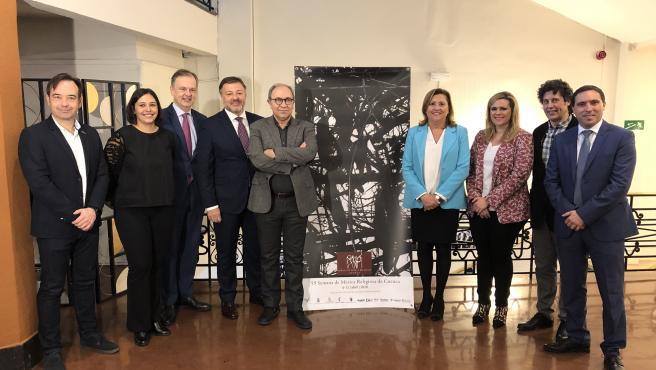 Presentación de la Semana de Música Religiosa de Cuenca 2020.