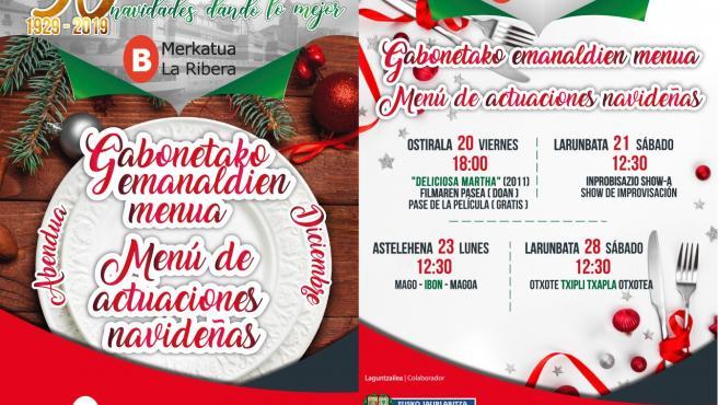 Programación cultural del mercado de La Ribera (Bilbao)