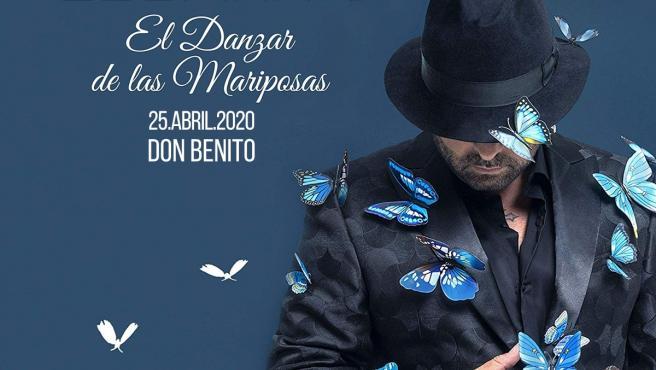 Cartel de la actuación de El Barrio en Don Benito (Badajoz)