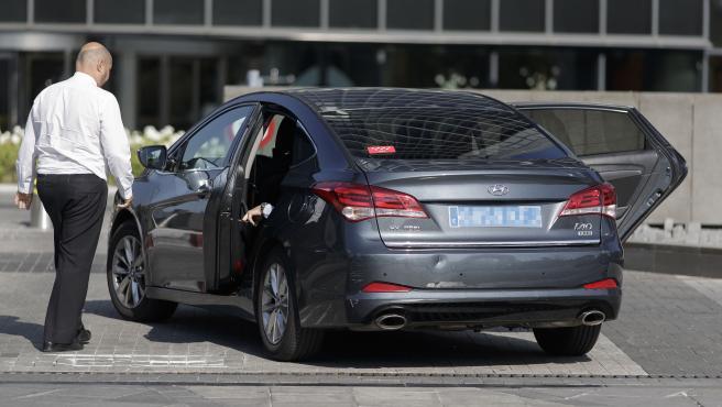 Conductores de coches VTC de empresas como Cabify y Uber