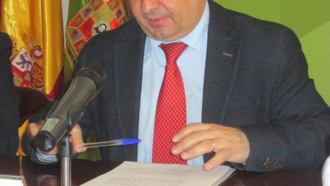 El presidente de la Diputación de Jaén, Francisco Reyes, en una foto de archivo.