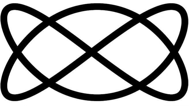 Ilusión óptica de doble eje creada por Frank Force.