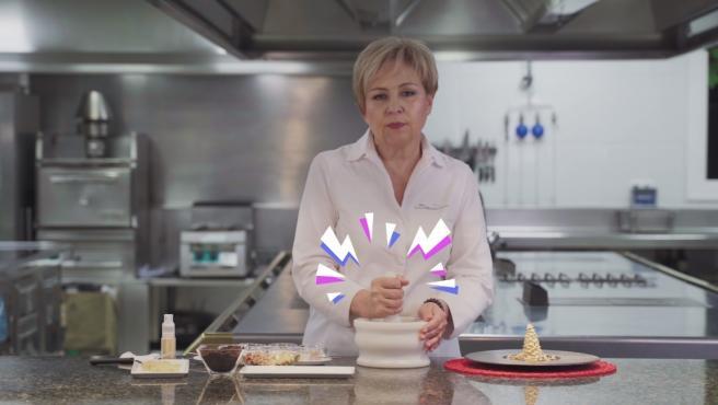 La cocinera Susi Díaz, en una campaña contra los juguetes sexistas