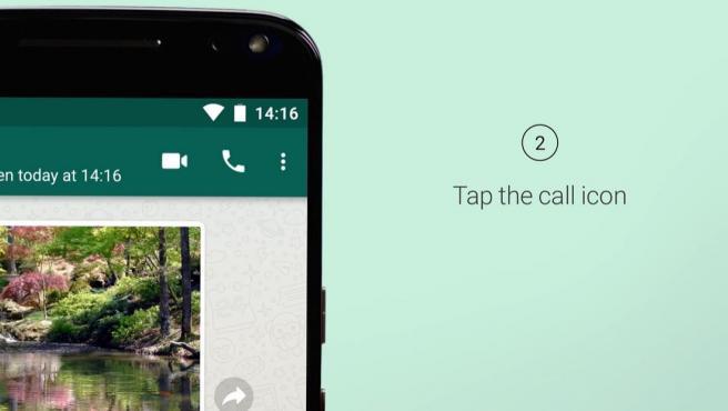 La función 'Llamadas' te permite realizar llamadas gratuitas a tus contactos en WhatsApp.