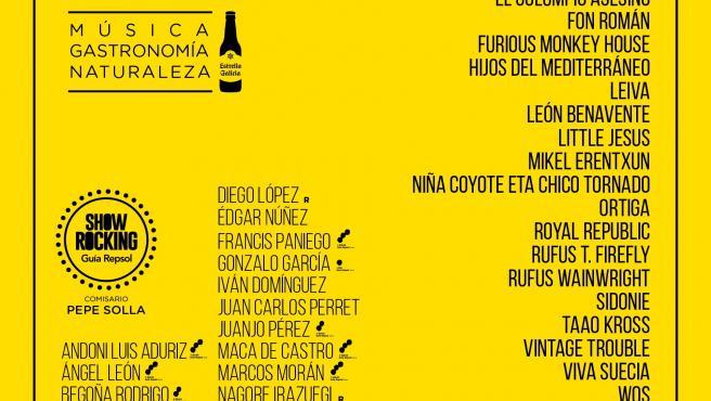 Avance del cartel del Festival PortAmérica