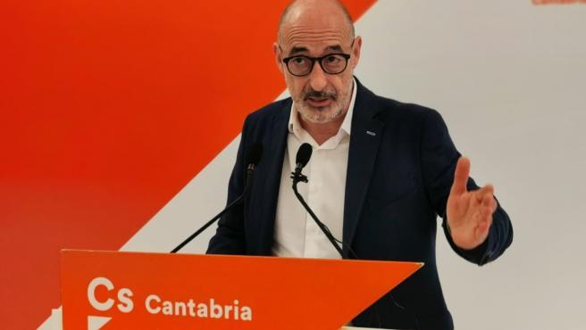 Félix Álvarez, portavoz autonómico de Cs