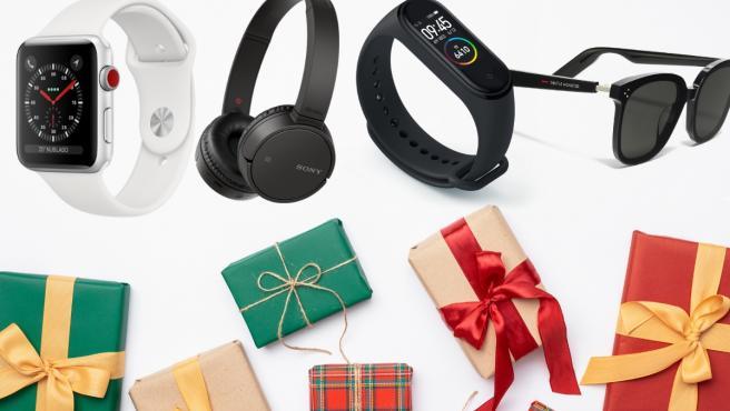 Wearables son smartwatches, auriculares inalámbricos, smart bands o gafas inteligentes.