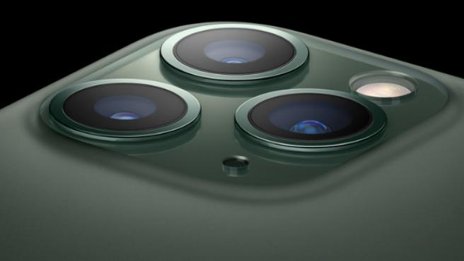 Vista de la cámara del iPhone 11 Pro