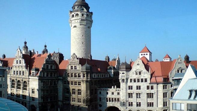 Imagen de la ciudad de Leipzig, en Alemania.