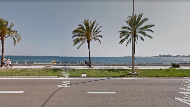 Paseo Marítimo de Palma de Mallorca.