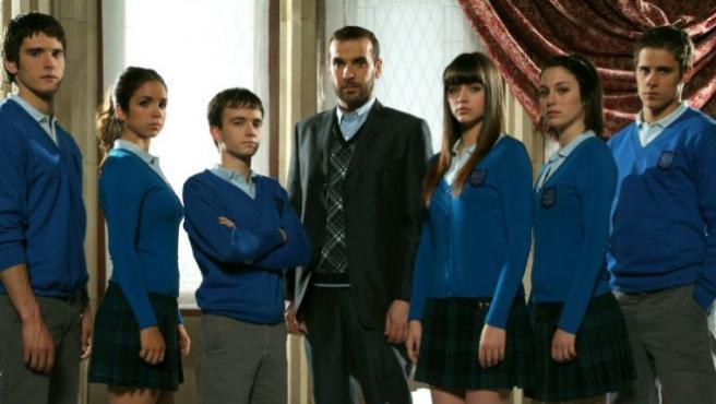 Imagen de la serie 'El internado'.