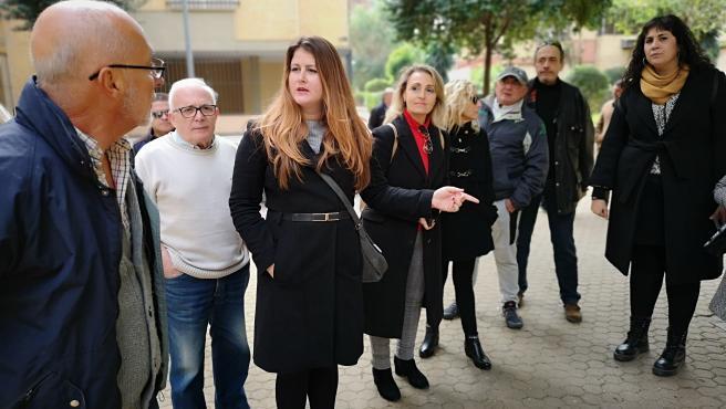 Adelante reclama al Ayuntamiento 'soluciones' para la asociación de vecinos 'Los Mares' de Pino Montano.