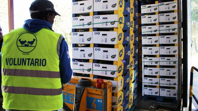 El sector platanero de Canarias pone en marcha una campaña especial de donaciones durante estas Navidades .La campaña es realizada en colaboración con la Federación Española de Bancos de Alimentos.