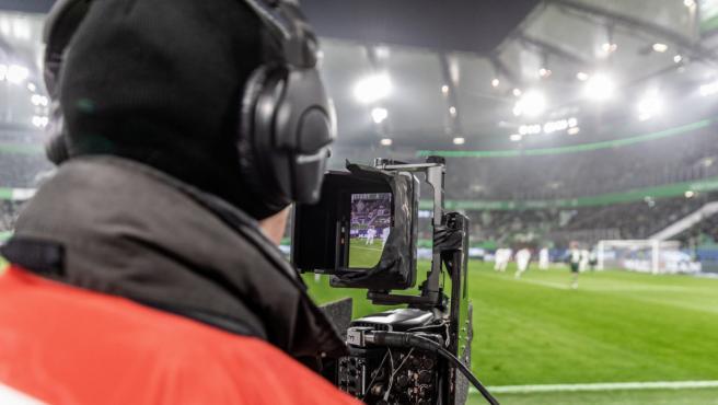 Transmiten el primer partido de fútbol en formato vertical para móviles