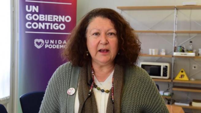 La secretaria general de Podemos Baleares, Mae de la Concha
