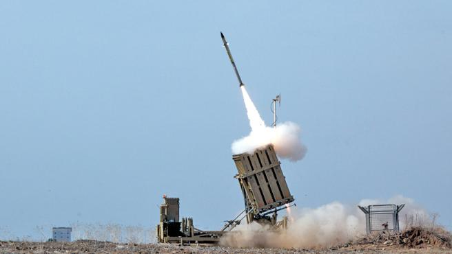 Un misil israelí, en una imagen de archivo.