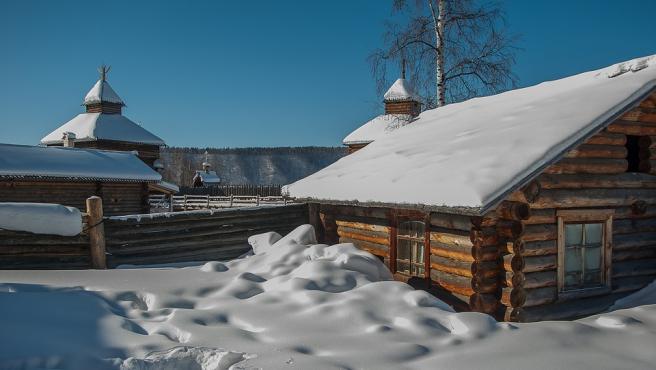 Un empresario ruso ha puesto en venta una pequeña aldea siberiana.