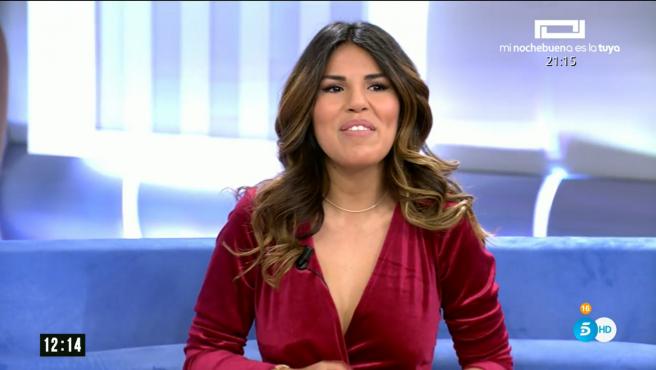 Isa Pantoja como colaboradora de 'El programa de Ana Rosa'.