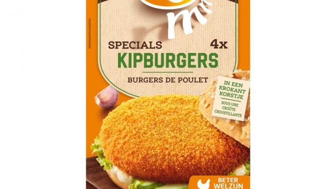 Un paquete de las hamburguesas afectadas.