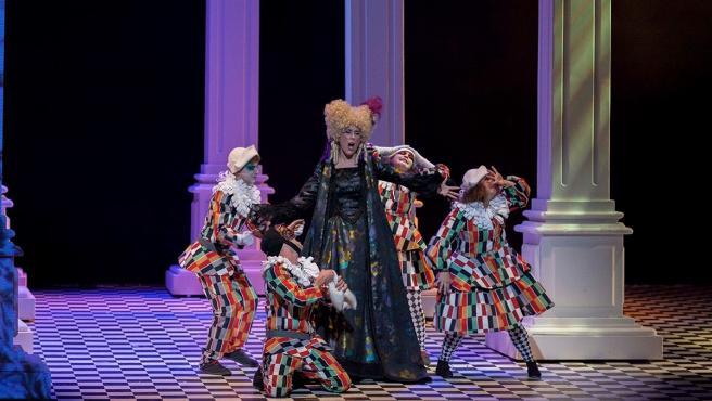 Imagen de 'El traje nuevo del emperador', de la Ópera de Cámara de Navarra