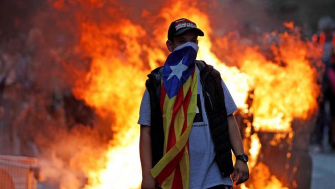 Tras la sentencia del 'procés' por parte del Tribunal Supremo, la ciudadanía catalana se echó a las calles colapsando Barcelona durante varios días para protestar contra los delitos de sedición.