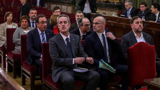 El juicio a los 12 líderes independentistas catalanes acusados por el proceso soberanista del 1-O y la decisión unilateral de independencia mantuvo al país pendiente de la actualidad.