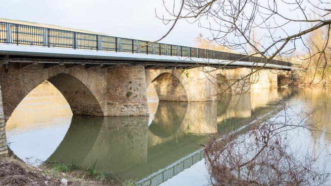 Estado actual del reformado puente de Ibero