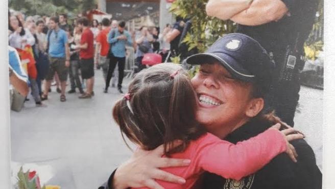 Fotografía de la felicitación navideña del director de la Policía Nacional, Francisco Pardo.