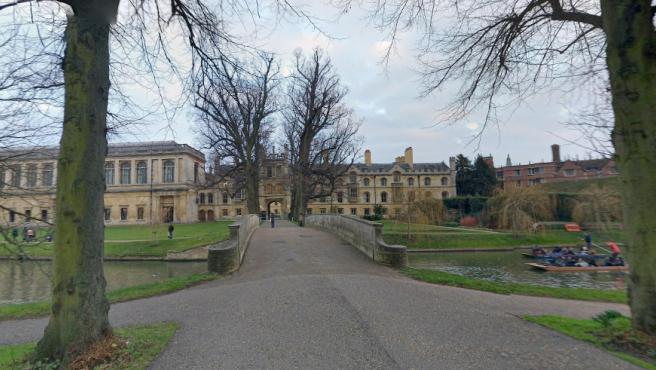 Imagen de Trinity College, de Cambridge.