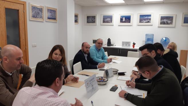 Junta directiva extraordinaria de la Asociación para la Promoción Turística de la Axarquía (APTA).