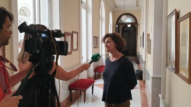 Lucrecia Valverde, portavoz de Xs en el Ayuntamiento de Cádiz