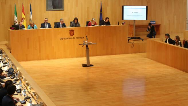 Pleno de la Diputación de Málaga del mes de noviembre de 2019