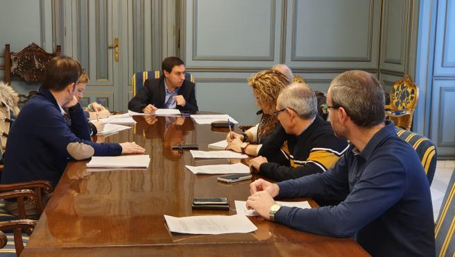 Reunión del Patronato de la Fundación Antonio Pérez en Cuenca