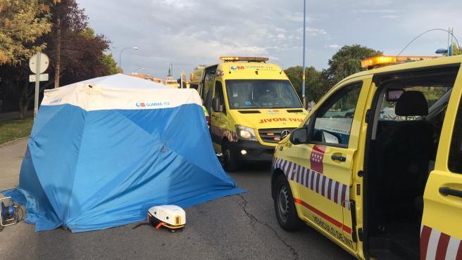 Muere atropellado un ciclista de 58 años en Rivas Vaciamadrid