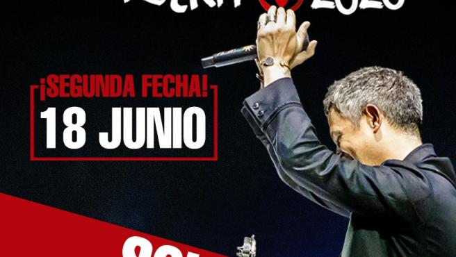 Alejandro Sanz agota entradas para su primera fecha en Murcia Y anuncia un segundo concierto