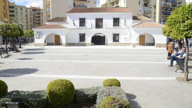 Edificio de la antigua Casa Consistorial de Torremolinos que albergará el mercado gourmet Sabor a Málaga