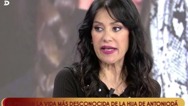 Maite Galdeano defiende a su hija, Sofía Suescun, en 'Sálvame'.