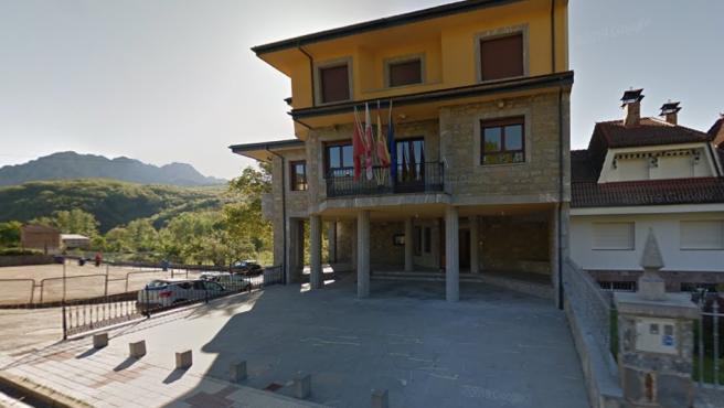 Imagen del Ayuntamiento de Crémenes, León.