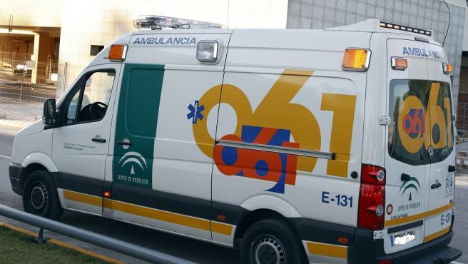 Una ambulancia de la Empresa Pública de Emergencias Sanitarias (Epes) de Andalucía.