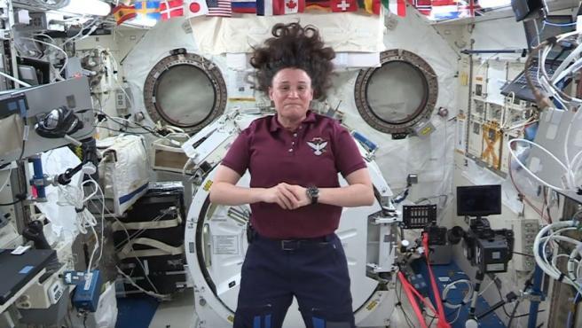 Astronauta Serena Auñón.