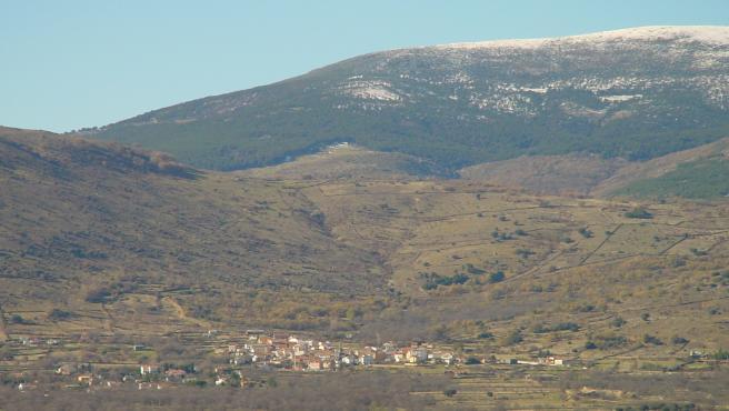 Vista del municipio de Gargantilla del Lozoya y Pinilla de Buitrago.