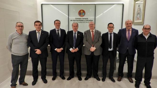 Reunión de los consejos de hermandadess de Andalucía