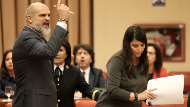 El diputado de Vox en el Congreso, Víctor Sánchez del Real, en una imagen del pasado mes de octubre.